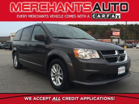 Pre-Owned 2015 Dodge Grand Caravan SXT Front Wheel Drive Minivan/Van