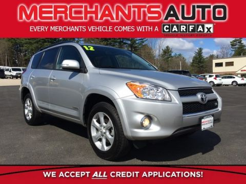 Pre-Owned 2012 Toyota RAV4 Limited 4WD Four Wheel Drive SUV