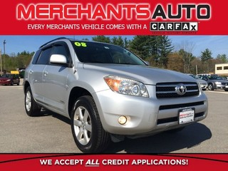 Used Toyota RAV4 Limited 4WD